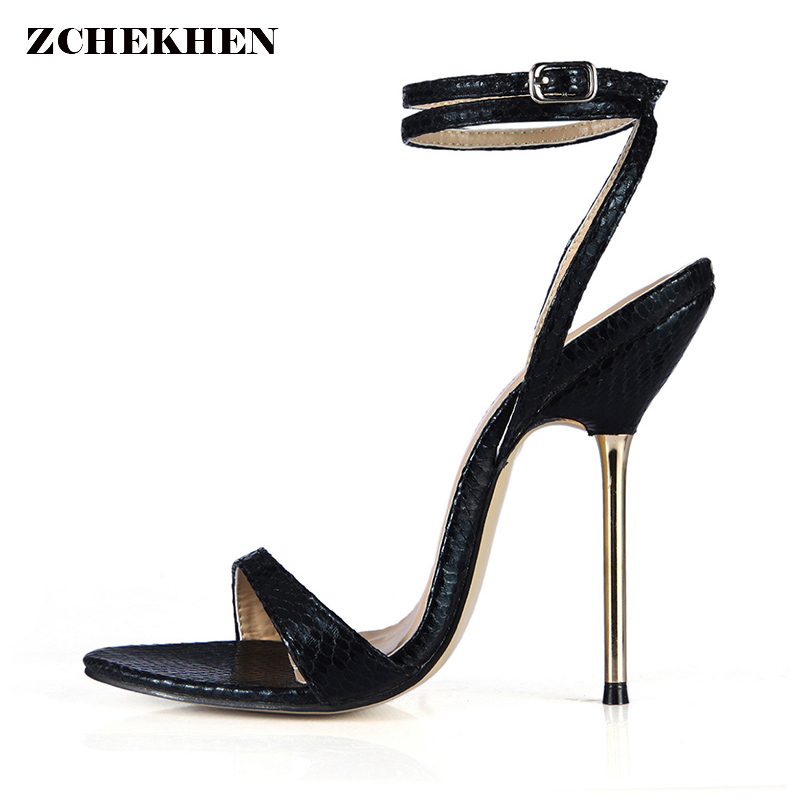 women shoes open toe 12.4/10.7cm high heels sandals shoes woman cross-tied ankle strap woman gladiator sandals pumps size35-43 2018 new big size 34 42 women cross tied pumps stiletto ankle buckle gladiator high heels blue red platform wedding bridal shoes