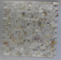 New Style White Color Shell Mosaic Tile Kitchen Bathroom Bedroom Floor Wall Mosaics Tiles Home Improvement