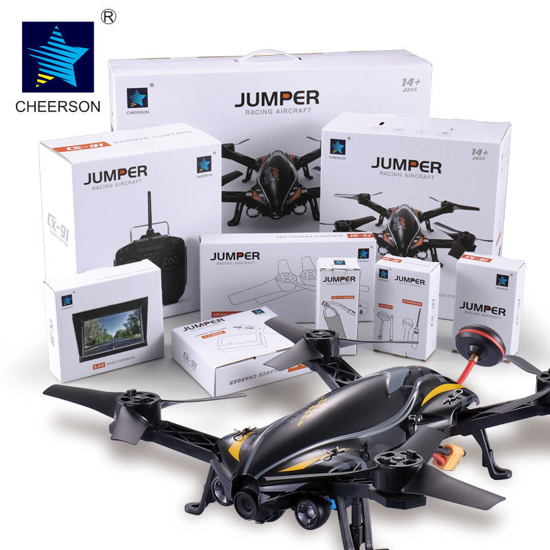 Profession Selfies Drone Cheerson Jumper CX-91 CX-91A CX91 Highest Configuration 5.8G FPV 720P HD Camera Racing RC Quadcopter cheerson cx 91 cx 91a jumper uav with 2mp camera remote control drone brushless motors fpv real time video high speed rc toys
