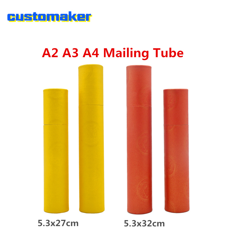 Bankers Box Missive Mailing Tube A2 A3 Artwork Fishing Rod Case Document Storage Tube For Blueprints Art Container Cylinder