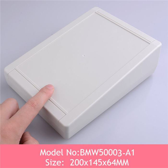 (3pcs)wall mount diy electronic box distribution electric enclosure abs plastic 200*145*64mm - China Quality Enclosure store