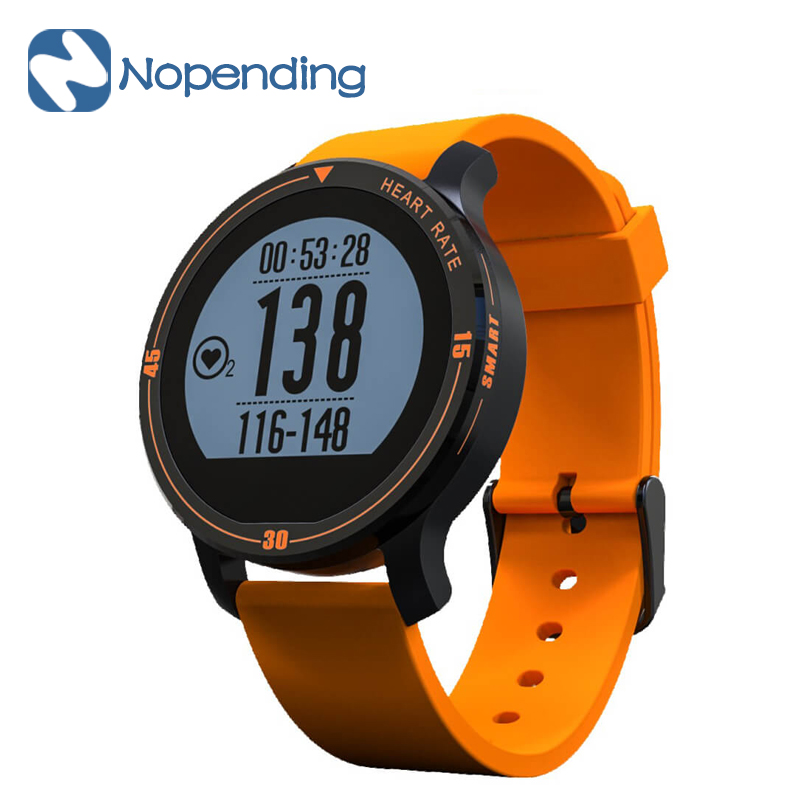 Makibes Aerobic A1 Smartwatch Sports Smart Watch Heart Rate Tracker Pedometer Call SMS Reminder S200 for Android iOS XIAOMI MI5 wireless service call bell system popular in restaurant ce passed 433 92mhz full equipment watch pager 1 watch 7 call button