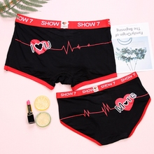 High Quality Couples bamboo fiber Underwear Lovers Comfortable Underpants Tamptation Sexy Panties Men Women Boxers
