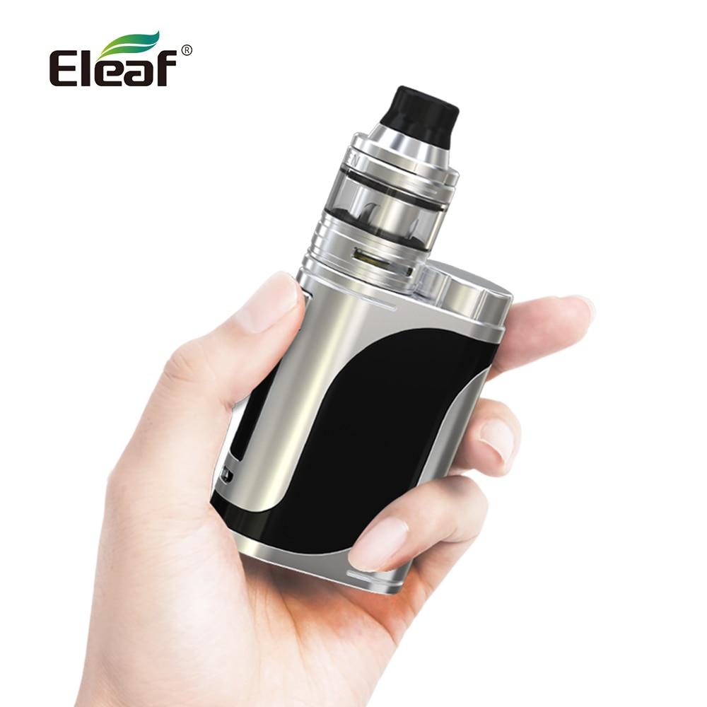 USA/France Entrepôt Origine Eleaf iStick Pico 25 kit avec ELLO Atomiseur 1-85 W 2 ml HW1 /HW2 bobines Vaporisateur Boîte Mode E cigarette