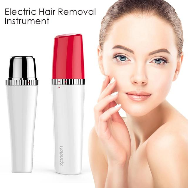 Electric Hair Removal Instrument Painless Eyebrow Trimmer Epilator for Women Portable Hair Removal Razor