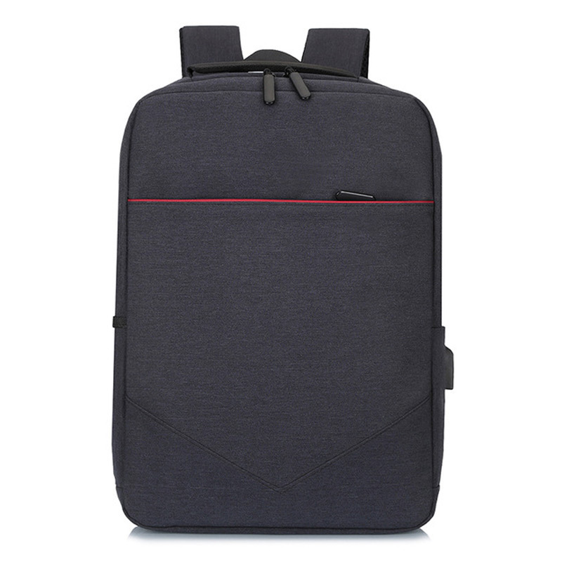15 17 Laptop Backpack External USB Charging Computer Backpacks Anti theft Waterproof Nylon Bags For Men