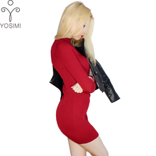 2017 Women Autumn Winter Sweaters High Elastic Slim Warm Tight Bottoming Sweater Women Elegant Knitted Pullover basic  femme Top