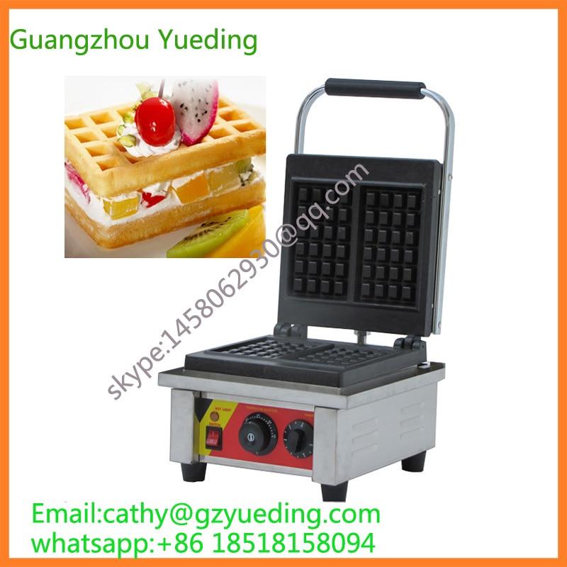 Rettangolo elettrico waffle baker/cialda di cottura macchina/waffle macchina da fornoRettangolo elettrico waffle baker/cialda di cottura macchina/waffle macchina da forno