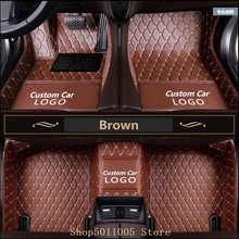 Car Floor Mats for Tesla Model X 6/7 Seats 2016-2018 All Weather Auto 3D Carpets Waterproof Mat Floor Pad Floor Car Floor Mats for ford focus brand leather wear resisting car floor mats black grey brown beige non slip waterproof 3d car floor carpets