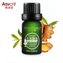 ARSYCHLL Ginger Essential Oil Beauty Face Care Whitening Moisturizing Improve Skin Conditions Aromatherapy Massage Oil Skin Care