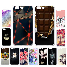 Ojeleye DIY Patterned Silicon Case For Leagoo T5 Soft TPU Cartoon Phone Cover T5c Covers Bags Anti-knock Shell