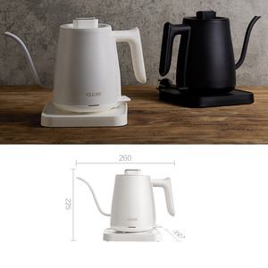 Image 3 - YOULG מים קומקום חשמלי קפה סיר חימום בקרת טמפרטורה אוטומטי כבוי הגנה Wired קומקום 220V
