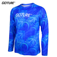 Goture Fishing Clothing Quick Dry Shirt for Men Long Sleeve T shirt Anti UV Breathable Quick Dry Fishing T shirt Clothes