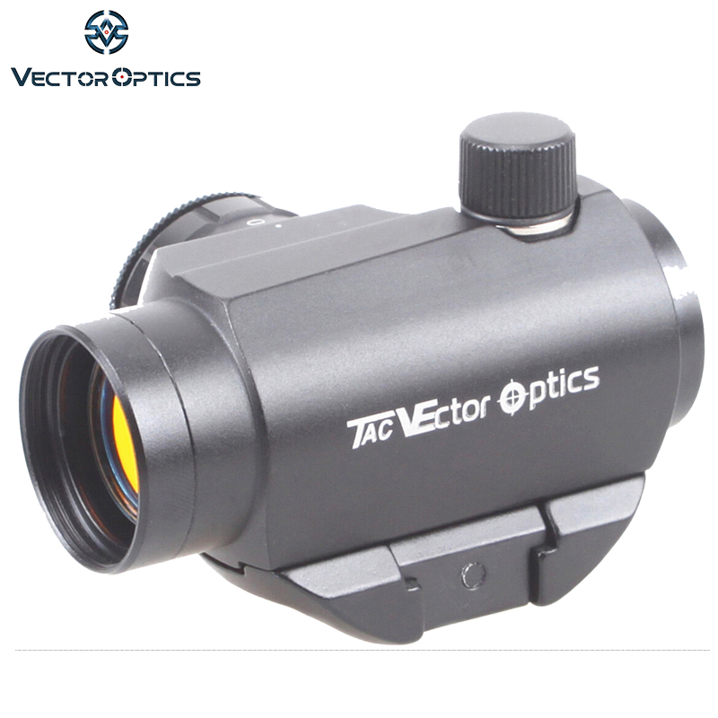 Vector Optics Maverick 1x22 Tactical Compact Red Dot Sight Scope with Quick Release QD Mount For Real Rifles Handguns Airsoft аксессуар maverick 1m 1138