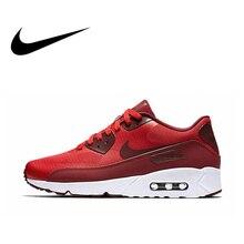 Официальный Оригинальная продукция Nike AIR MAX 90 ULTRA 2,0 для мужчин дышащие кроссовки классические удобные активный отдых спортивная обувь