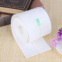 300/500 pçs toalhetes de algodão de unha gel uv dicas de unhas polonês removedor limpador de fiapos almofada de papel embeber unha arte manicure ferramenta de limpeza