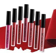 COSCELIA Matte Lipstick 15 Colors Waterproof Tint For Lips Sexy Red Lip Matt Long Lasting Make Up