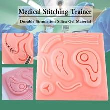 3D Lifelike simulator for training laparoscope  surgical suture  skin kit model medical training simulators Suture Practice  pad