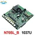 N70SL_B-1U Firewall Motherboard 1037U, Rack 1U Servidor router Firewall Motherboard
