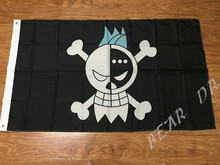 One Piece pirate flag skull Flag Banner 90 x 150 CM