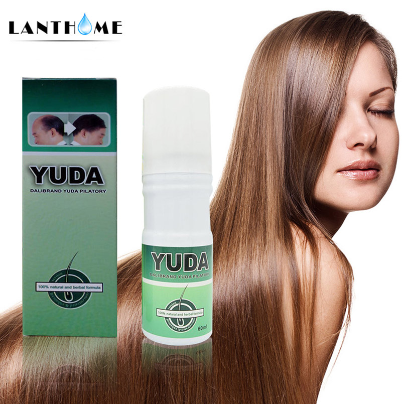 Lanthome Brand Hair Growth Ginger Essence Hair Loss Liquid 60ml Dense hair fast Sunburst hair growth grow Restoration pilatory