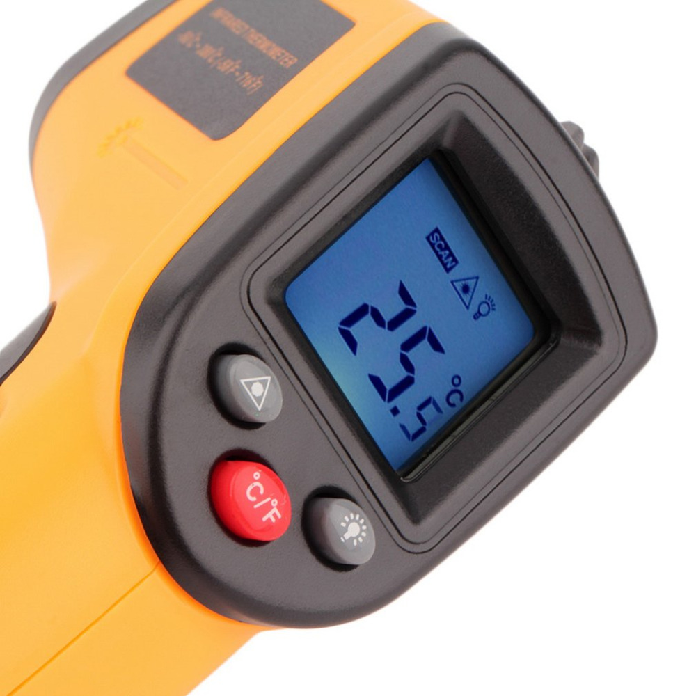 Non-Contact LCD Display IR Laser Infrared Digital Temperature Meter Sensor Thermometer Gun Point with Data Hold function new lc171w03 b4k1 lcd display screens