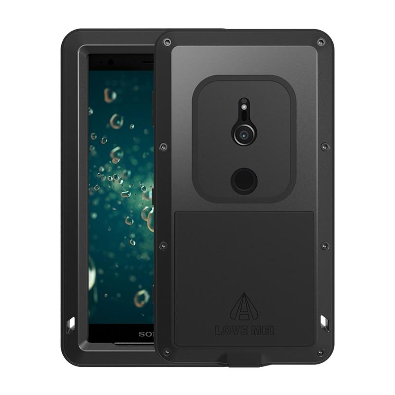 Love Mei Waterproof Case For Sony Xperia XZ2 5.7 inch Shockproof Aluminum For Sony Xperia XZ2 Compact 4.6 inch Cases Phone CoverLove Mei Waterproof Case For Sony Xperia XZ2 5.7 inch Shockproof Aluminum For Sony Xperia XZ2 Compact 4.6 inch Cases Phone Cover