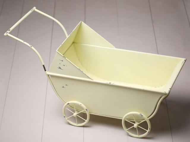 Vintage Baby Trolley Newborn Photography Prop High Quality Baby Bed #P0710