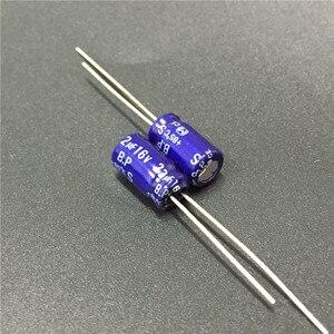 Image 1 - 10 шт. 22 мкФ 16 В S BP серии 6,3x11 мм 16в22 мкФ биполярный аудио конденсатор