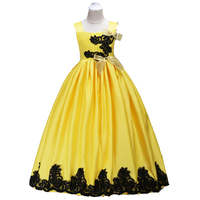 3 14 Year Kids Girls Wedding Flower Girl Dress Upscale Princess Party Pageant Formal Dress Sleeveless