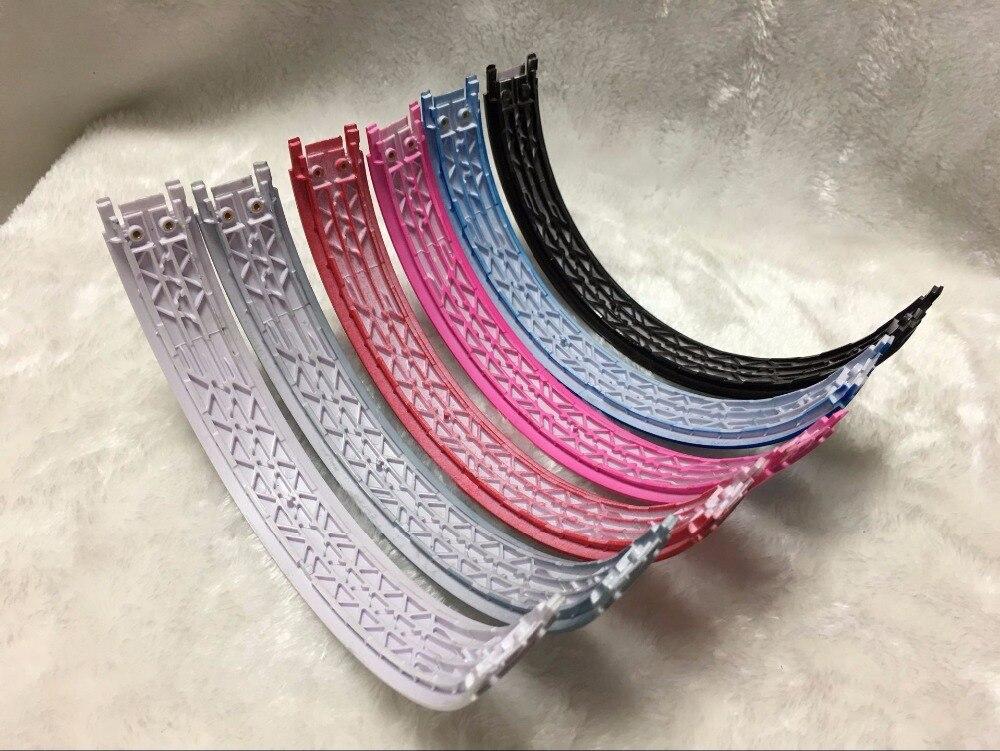 bilder für 10 Teile/los Glossy Ersatz TOP Qualität plastic Head Band Stirnband Für tier Solo 2 Solo 2,0 Kopfhörer