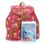 Fasion Lienzo + PU Mochila De Cuero de Animal Print Ladies Mochila Búho Bolsa de La Escuela Para Las Niñas Adolescentes mochila bolsa mochila Portátil