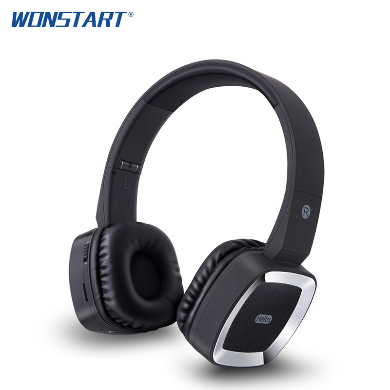 Wonstart Sport Bluetooth Headphones Portable Wireless Bluetooth Headset with Microphone for iphone xiaomi huawei bluedio t4 original wireless headphones portable bluetooth headset with microphone for iphone htc samsung xiaomi music earphone