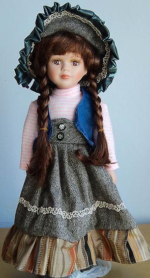 "Fashion 16 "" collectible Vintage dolls porcelain dolls ..."