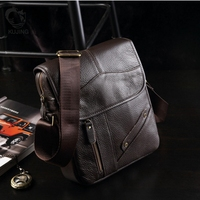 KUJING Leather Men's Bag High grade Business Clutch Men Shoulder Messenger Bag Hot Cheap Multi functional Casual Leather Men Bag