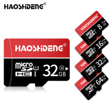 100% Real Capacity Memory Card Class 10 Micro SD Card 8GB 16GB 32GB 64GB TF Card High Speed Mini card new package free adapter(China)