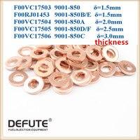 Anéis de Cobre Arruelas Calços Injector F00VC17503 Junta F00VC17504 Injeção Cobertura Calor F00VC17505 F00RJ01453 F00RJ02175
