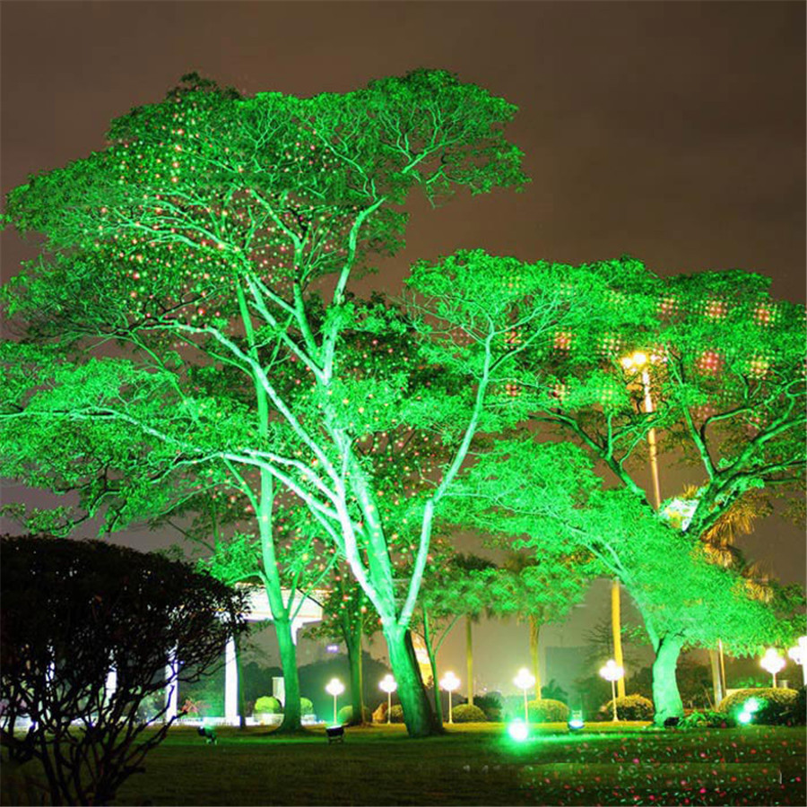 ZINUO Outdoor Garden Lawn Light Sky Star Laser Spotlight Light ...