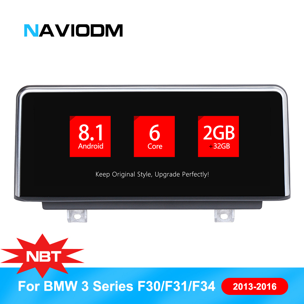 Android 8.1 Car Multimedia Player  Auto Navigation  For BMW 3 Series F30 F31 F23 F32 F33 F36 Car Audio car GPS 6 core 32GB ROM
