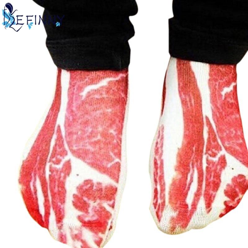 Meat Bone Socks Boat Socks Diverse Patterns Personality Comfortable Bones Sock