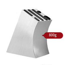 Kitchen Expert 304 Stainless Steel Knife Block Scissors Knife Sharpener Holder Stand Storage Rack Tool Supplies Organizer dental stainless steel stand holder orthodontic cut off pliers forceps scissors stand placement rack lab tool