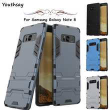 Youthsay For Case Samsung Galaxy Note 8 Case N5100 N5110 Robot Cases For Samsung Galaxy Note 8 Cover For Samsung Note 8 6.3 inch 3 in 1 wholesale pu leather case skin cover stand folio case for samsung galaxy note 8 0 n5100 n5110 screen film stylus