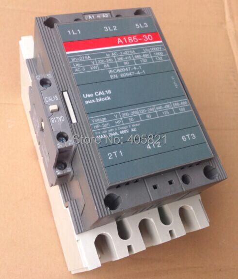 все цены на A185-30 AC contactor 3Pole magnetic contactor онлайн