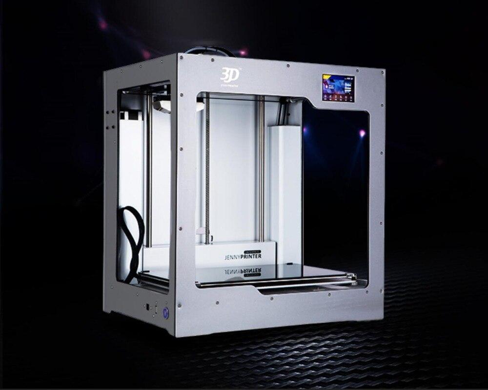 2019 Grande Taille! JennyPrinter4 X340 Double Extrudeuse Auto Niveau 3D Imprimante DIY KIT Pour Ultimaker 2 UM2 + Étendu