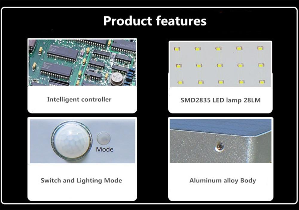 High Quality 48 led solar