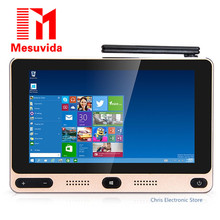 Mesuvida GOLE1 5-inch 720×1280 IPS Windows10 и Android5.1 Smart TV bo x Intel cherrytrail Z8300 Quad core 4 г 64 г Mini PC 5 г WI-FI