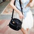 2016 Mulheres Bolsa de Couro PU Messenger Bags Senhoras Bolsas Moda Tassel Zipper Bolsas de Ombro Cross-body Bolsa Feminina Pequena meninas
