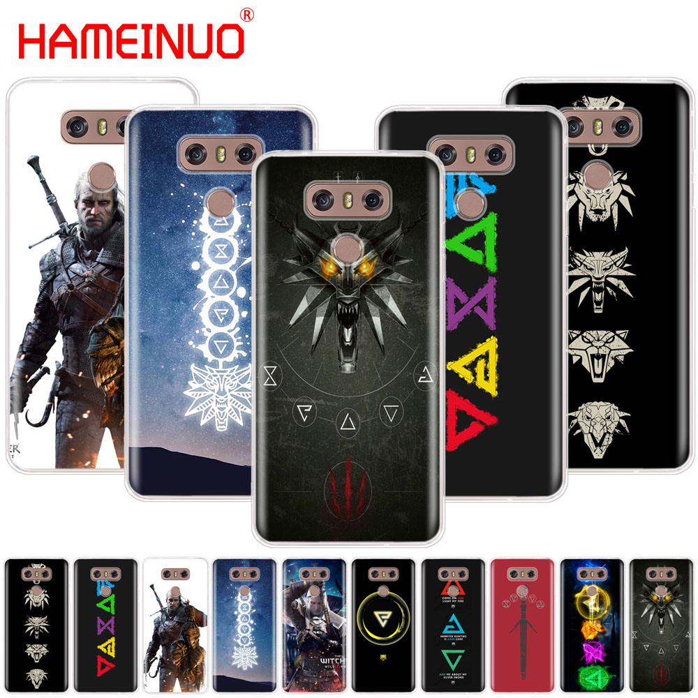 HAMEINUO The Witcher 3 Wild Hunt signs case phone cover for LG G6 G5 K10 M250N M250 2017 2016