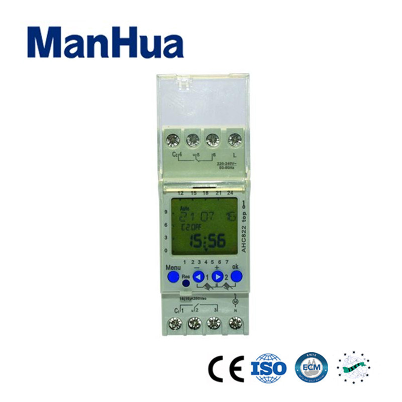 Manhua Weekly Timer Switch Electronic Programmable for the Kitchen or Home Use Digital Timer Switch electronic light switch weekly programmable timer digital switch relay timer controller for controlling road lamp neon light