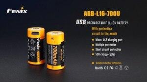 Image 4 - Fenix ARB L16 700U USB Rechargeable 700mAh Rechargeable Li ion 16340 RCR123A Battery